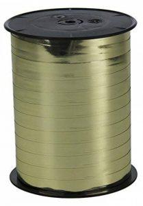 Clairefontaine 602075C Bolduc bobine métallisée 250mx7mm Couleur Or de la marque Clairefontaine image 0 produit