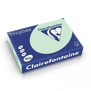 Clairefontaine 669268 Papier jet d'encre Vert de la marque Clairefontaine image 0 produit