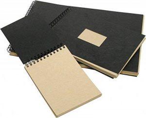Clairefontaine 8371C Kraft album spiralé 60F 14,8x21cm 90g papier vergé Brun de la marque Clairefontaine image 0 produit