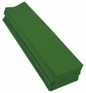 Clairefontaine 901050C Paquet 10 feuilles Crépon M40 2x0.50m Vert empire de la marque Clairefontaine image 0 produit