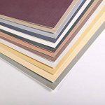 Clairefontaine 96003C Pastelmat bloc collé 12F 18x24cm 360g carte pour pastel Anthracite de la marque Clairefontaine image 2 produit