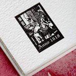 Clairefontaine 96436C Fontaine Aquarelle bloc collé 4 côtés 25F 10x15cm 300g grain fin Blanc de la marque Clairefontaine image 4 produit