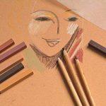 Clairefontaine 96587C Ingres Pastel bloc spiralé 25F 24x30cm 130g papier vergé Assortiment Vif de la marque Clairefontaine image 4 produit