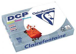 Clairefontaine - DCP - Lot de 4 Ramettes de Papier (4 x 250 Feuilles) - A4-160g - Blanc de la marque Clairefontaine image 0 produit