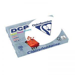 Clairefontaine Ramette de 125 feuilles papier blanc DCP 250gr A4 de la marque Clairefontaine image 0 produit