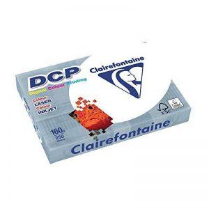 Clairefontaine Ramette de 250 feuilles papier blanc DCP 160 gr A4 de la marque Clairefontaine image 0 produit