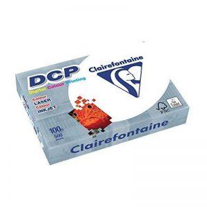 Clairefontaine Ramette de 500 feuilles papier blanc DCP 100 gr A4 de la marque Clairefontaine image 0 produit