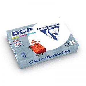 Clairefontaine Ramette de 500 feuilles papier blanc DCP 90 gr A4 de la marque Clairefontaine image 0 produit