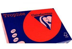 Clairefontaine Trophée A4 A4 (210×297 mm) papier jet d'encre - Papiers jet d'encre (A4 (210×297 mm), Photocopie, 120 g/m²) de la marque Clairefontaine image 0 produit