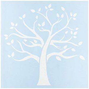 Clear Scraps Transparent de pochoirs en plastique 30,5cm x 30,5cm Famille Arbre de la marque Clear Scraps image 0 produit