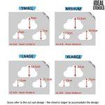 Cloud Nurserie Pochoir Mural De Maison Décoration & Artisanat Pochoir Cloud Ciel Thème Décoration Murale Peinture Murs Fabrics & Meuble 190 Mylar Pochoirs Réutilisables de la marque Ideal Stencils image 1 produit