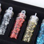 Coffert de 48 Peites Fioles (35 x 11mm) de Nail Art + 5pcs Stylo Dotting Couleur et Motif Différents pour Decoration Nail Fabricaiton Bijoux et Maquillage de la marque DEOMOR image 2 produit