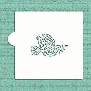 Colombe de la paix avec branche d'olivier Cookie et Craft Pochoir Cm041machine par la designer Pochoirs de la marque Designer Stencils image 0 produit