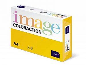 Coloraction Antalis 838A 160S 7 Papier A4 160 g/m² Jaune soleil (Import Allemagne) de la marque Coloraction image 0 produit