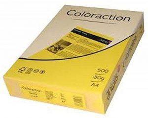 Coloraction Ramette A4d'image Jaune vif (Séville) papier pour imprimante A4 210 x 297mm jaune de la marque Image image 0 produit