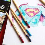 Colore - Crayons de couleur–Lot de 50pastels de haute qualité pour dessin et coloriage de la marque Colore image 1 produit