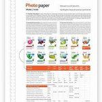 Colorway papier photo Mat: 135g/m?–A4–50BL. de la marque Colorway image 1 produit