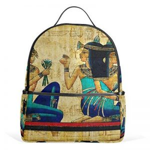 COOSUN Égypte ancienne Parchemin légère en toile Enfants école Sac à dos pour les garçons livre filles Petit Multicolore de la marque COOSUN image 0 produit