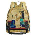 COOSUN Égypte ancienne Parchemin légère en toile Enfants école Sac à dos pour les garçons livre filles Petit Multicolore de la marque COOSUN image 2 produit