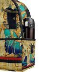COOSUN Égypte ancienne Parchemin légère en toile Enfants école Sac à dos pour les garçons livre filles Petit Multicolore de la marque COOSUN image 4 produit