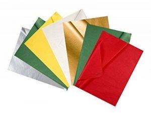 CREAVVEE® Lot de 25feuilles de papier de soie à découper, 50x70cm, a-X-Mas 5, - de la marque CREAVVEE® image 0 produit