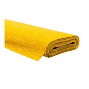 Creleo 79146210rouleaux de papier crépon Jaune 50x 250cm–Étanche - de la marque Creleo image 0 produit