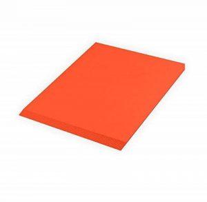 Creleo Carton photo 300g, A410feuilles, orange de la marque Creleo image 0 produit