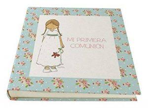 Cuadriman A1-NNA3V Album de photos de communion pour fille Vintage Papier 30x 30cm Turquoise de la marque Cuadriman image 0 produit