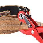 Cuir Punch Puncher Hole Puncher portatif robuste Ceinture Outil de perforation pour ceinture de selle, bracelet de montre à chaussures Tissu papier 2.0–4,5mm de la marque ALLOMN image 2 produit