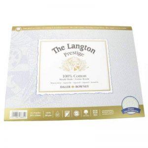 Daler-Rowney Langton Prestige Bloc aquarelle grain torchon 30,5 x 22,9 cm de la marque Daler Rowney image 0 produit