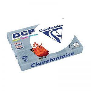 DCP Clairefontaine Rame de papier 125feuilles 300g format A4210x 297mm certifié FSC - Blanc de la marque DCP image 0 produit