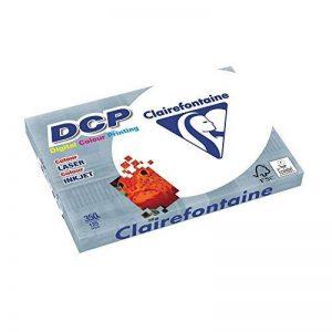DCP Clairefontaine Ramette de 125feuilles de papier 350g A3420x 297mm Certifié FSC Blanc de la marque Clairefontaine image 0 produit