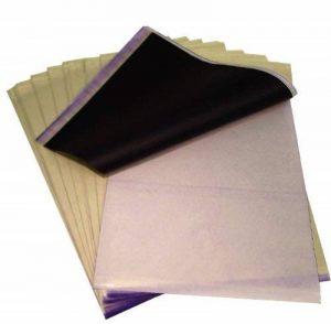 DCTattoo Lot de 20 feuilles de papier carbone hectographique pour tatouage de la marque DCTattoo image 0 produit