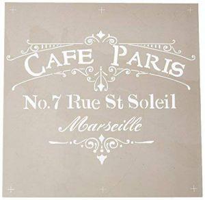 Deco Art Americana décor pochoir-Cafe Paris de la marque Deco Art image 0 produit