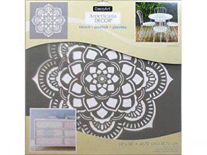 Deco Art Pochoir Décoratif DECADS-K.405 45,7x45,7cm, Pochoir à Décor Mandala de la marque Deco Art image 0 produit