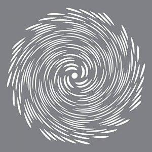 Deco Art Pochoir en plastique Andy Skinner multimédia 8x 8-inch-tornado de la marque Deco Art image 0 produit