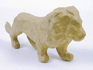 "Decopatch Papier maché Figurine 4.5""-Lion de la marque Decopatch image 0 produit"