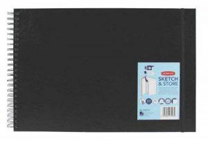 Derwent Carnet à dessin cartonné 165 g/m² 56 feuilles A3 Paysage (Import Royaume Uni) de la marque DERWENT image 0 produit