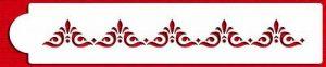 Designer Pochoirs C543Mexicain pour carrelage Gâteau Pochoir Tier 3, Beige/Semi-Transparent de la marque Designer Stencils image 0 produit