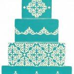 Designer Pochoirs C543Mexicain pour carrelage Gâteau Pochoir Tier 3, Beige/Semi-Transparent de la marque Designer Stencils image 2 produit