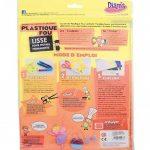 Diam's DI42263 Feuilles Plastique Fou Blanc 29,7 x 21,6 x 0,1 cm Lot de 7 de la marque Diam's image 1 produit