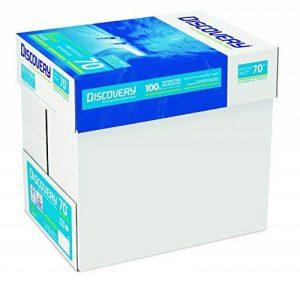 Discovery NDI0700025 Papier 70 g/m² Blanc A4 5 ramettes de 500 feuilles (Import Royaume Uni) de la marque Discovery image 0 produit