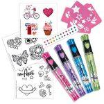 Diset 46786 - Tatouages Fantaisie Miss Pepis de la marque Diset image 2 produit