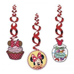 Disney Junior Lot de 2moulins à vent en papier Motif Minnie Cadeaux de fête de la marque Disney image 0 produit