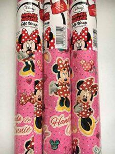 Disney Minnie Mouse Cadeau Rouleau de 3x 2m de la marque Disney image 0 produit