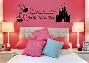 Disney Minnie Mouse Magical Things Château enfants de vinyle Stickers Sticker mural en vinyle de transfert de pochoir de la marque m-t-enterprises Vinyl image 0 produit