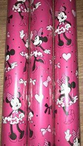 Disney Minnie Mouse papier d'emballage cadeau de papier cadeau 3x 2metre de la marque Is it art image 0 produit