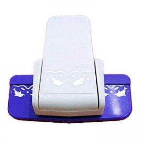 Dispositif de gaufrer la bordure du papier et de la carte/machine à égrener d'impression de dauphin de la marque Luwu-Store image 0 produit