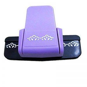 Dispositif de gaufrer la bordure du papier et de la carte/machine à égrener d'impression de fleur de lotus de la marque Luwu-Store image 0 produit