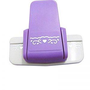 Dispositif de gaufrer la bordure du papier et de la carte/machine à égrener d'impression de Wistaria de la marque Luwu-Store image 0 produit